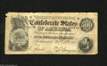 Confederate Notes:1864 Issues, T64 $500 1864. A half inch tear is noticed at top center of this $500 that has several other edge abrasions. Good-Very Goo...