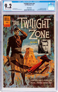 Silver Age (1956-1969):Mystery, Twilight Zone #01-860-207 White Mountain Pedigree (Dell, 1962) CGCNM- 9.2 Off-white to white pages....