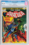 Bronze Age (1970-1979):Horror, Tomb of Dracula #21 (Marvel, 1974) CGC NM/MT 9.8 White pages....