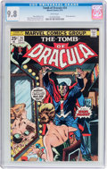 Bronze Age (1970-1979):Horror, Tomb of Dracula #24 (Marvel, 1974) CGC NM/MT 9.8 White pages....