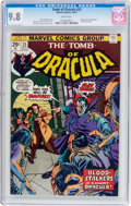 Bronze Age (1970-1979):Horror, Tomb of Dracula #25 (Marvel, 1974) CGC NM/MT 9.8 White pages....