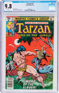 Bronze Age (1970-1979):Adventure, Tarzan #15 (Marvel, 1978) CGC NM/MT 9.8 White pages....