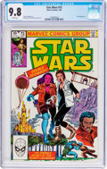 Modern Age (1980-Present):Science Fiction, Star Wars #73 (Marvel, 1983) CGC NM/MT 9.8 White pages....