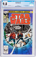 Modern Age (1980-Present):Science Fiction, Star Wars #72 (Marvel, 1983) CGC NM/MT 9.8 White pages....