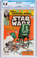 Modern Age (1980-Present):Science Fiction, Star Wars #40 (Marvel, 1980) CGC NM/MT 9.8 White pages....