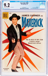 Four Color #930 Maverick (Dell, 1958) CGC NM- 9.2 Off-white to white pages