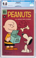 Silver Age (1956-1969):Humor, Peanuts #8 (Dell, 1961) CGC VF/NM 9.0 Off-white to white pages....