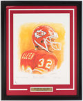Autographs:Photos, Marcus Allen Signed Framed Limited Edition Print.. ...