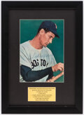Autographs:Photos, Ted Williams Signed Framed Magazine Page.. ...