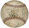 Autographs:Baseballs, 1932 Chicago White Sox Team Signed Baseball (23 Signatures).. ...
