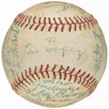 Autographs:Baseballs, 1958 Chicago White Sox Team Signed Baseball (29 Signatures) withNellie Fox. . ...