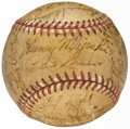 Autographs:Baseballs, 1950 Chicago White Sox Team Signed Baseball (32 Signatures) withFox and Appling.. ...