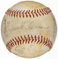 Autographs:Baseballs, 1974 Chicago White Sox Team Signed Baseball (19 Signatures).. ...