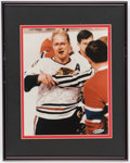 Hockey Collectibles:Photos, Bobby Hull Signed Framed Photograph. . ...