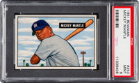 1951 Bowman Mickey Mantle #253 PSA Mint 9