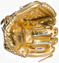 "Autographs:Others, Frank Robinson ""1958 Gold Glove"" Signed Mini Gold Glove. . ..."