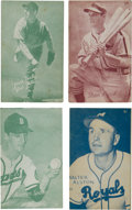 Baseball Cards:Lots, 1953 Canadian Exhibits Baseball Collection (62). ...