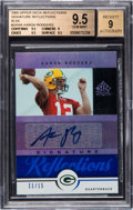 Football Cards:Singles (1970-Now), 2005 Upper Deck Reflections Aaron Rodgers #SRAR Rookie Sig...