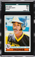 Baseball Cards:Singles (1970-Now), 1979 Topps Ozzie Smith #116 SGC 98 Gem 10 - The Ultimate SGCExample, Pop One! ...