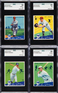 Baseball Cards:Lots, 1934 Goudey SGC-Graded High-End Quartet (4). ...