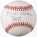 "Autographs:Baseballs, Mel Allen ""How About That"" Single Signed Baseball. . ..."
