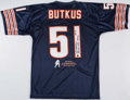 Autographs:Jerseys, Dick Butkus Signed Chicago Bears Jersey. . ...