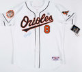 Autographs:Jerseys, Cal Ripken Jr. Signed Baltimore Orioles Jersey and Magazines.. ...