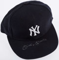 Autographs:Others, Mickey Mantle Signed Yankees Hat. . ...