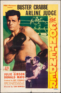 "The Contender (PRC, 1944). One Sheet (27"" X 41""). Sports"