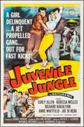 "Movie Posters:Crime, Juvenile Jungle (Republic, 1958). One Sheet (27"" X 41""). Crime....."