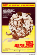 "Movie Posters:Sexploitation, Girls are for Loving & Other Lot (Continental, 1973). OneSheets (2) (27"" X 41"") Style B. Sexploitation.. ... (Total: 2Items)"