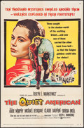 """Movie Posters:Thriller, The Quiet American & Other Lot (United Artists, 1958). Folded, Fine+. One Sheets (2) (27"""" X 41""""). Thriller.. ... (Total: 2 Items)"""