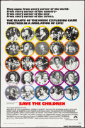 """Movie Posters:Black Films, Save the Children & Other Lot (Paramount, 1973). One Sheets (2)(27"""" X 41""""). Black Films.. ... (Total: 2 Items)"""