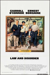 """Law and Disorder & Others Lot (Columbia, 1974). One Sheets (3) (26.75"""" X 39.75 & 27"""" X 41"""") Birne..."""
