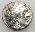 Ancients:Greek, Ancients: PTOLEMAIC EGYPT. Ptolemy II (285/4-246 BC). ARtetradrachm (14.04 gm). About XF, scratches....