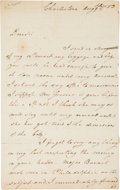 Autographs:Military Figures, Nathanael Greene Autograph Letter Signed....