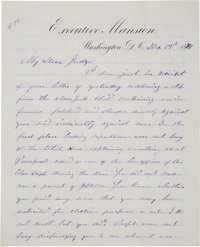 Ulysses S. Grant Autograph Letter Signed