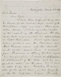 Autographs:U.S. Presidents, James Garfield Autograph Letter Signed ...