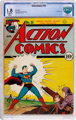 Action Comics #35 (DC, 1941) CBCS GD- 1.8 Off-white to white pages