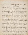 Autographs:U.S. Presidents, James Knox Polk Autograph Letter Signed as President. ...