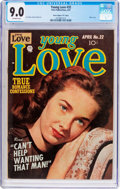 """Golden Age (1938-1955):Romance, Young Love #32 Davis Crippen (""""D"""" Copy) Pedigree (Prize, 1952) CGCVF/NM 9.0 Off-white pages...."""