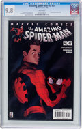 Modern Age (1980-Present):Superhero, The Amazing Spider-Man V2#37 (Marvel, 2002) CGC NM/MT 9.8 White pages....