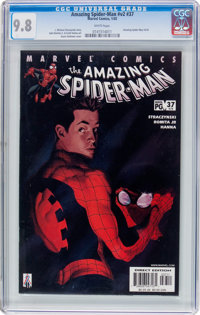 The Amazing Spider-Man V2#37 (Marvel, 2002) CGC NM/MT 9.8 White pages