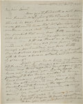 Autographs:U.S. Presidents, Andrew Jackson Autograph Letter Signed as President....