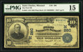 National Bank Notes:Missouri, Saint Charles, MO - $10 1902 Plain Back Fr. 624 The First NB Ch. #(M)260. ...