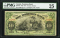 Canadian Currency: , Toronto, ON- The Dominion Bank $10 Jan. 2, 1925 Ch # 220-18-10. ...