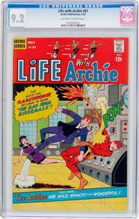 Life With Archie #61 (Archie, 1967) CGC NM- 9.2 Off-white to white pages