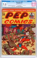 Golden Age (1938-1955):Humor, Pep Comics #35 (MLJ, 1943) CGC FN/VF 7.0 Cream to off-white pages....