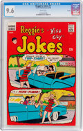 Silver Age (1956-1969):Humor, Reggie's Jokes #1 Curator Pedigree (Archie, 1968) CGC NM+ 9.6 White pages....