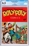 Golden Age (1938-1955):Miscellaneous, Roly Poly Comic Book #11 Pennsylvania Pedigree (Green Publishing Co., 1946) CGC FN+ 6.5 Off-white to white pages....